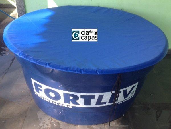 Capa Redonda para Caixa D'água