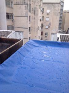 Capa Retangular para Caixa D'água